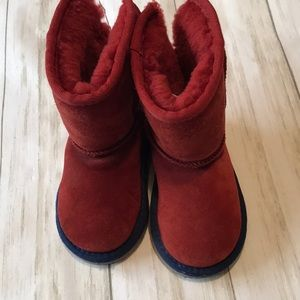 Ugg kids boots like new MODIFIED size 7